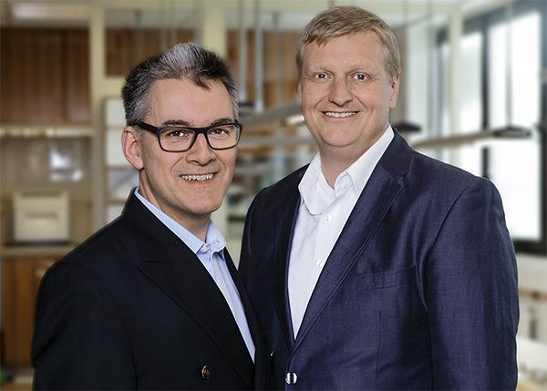 Die Inhaber und Geschäftsführer Hjalmar Stemmann (links) und Stefan Leisner (rechts)